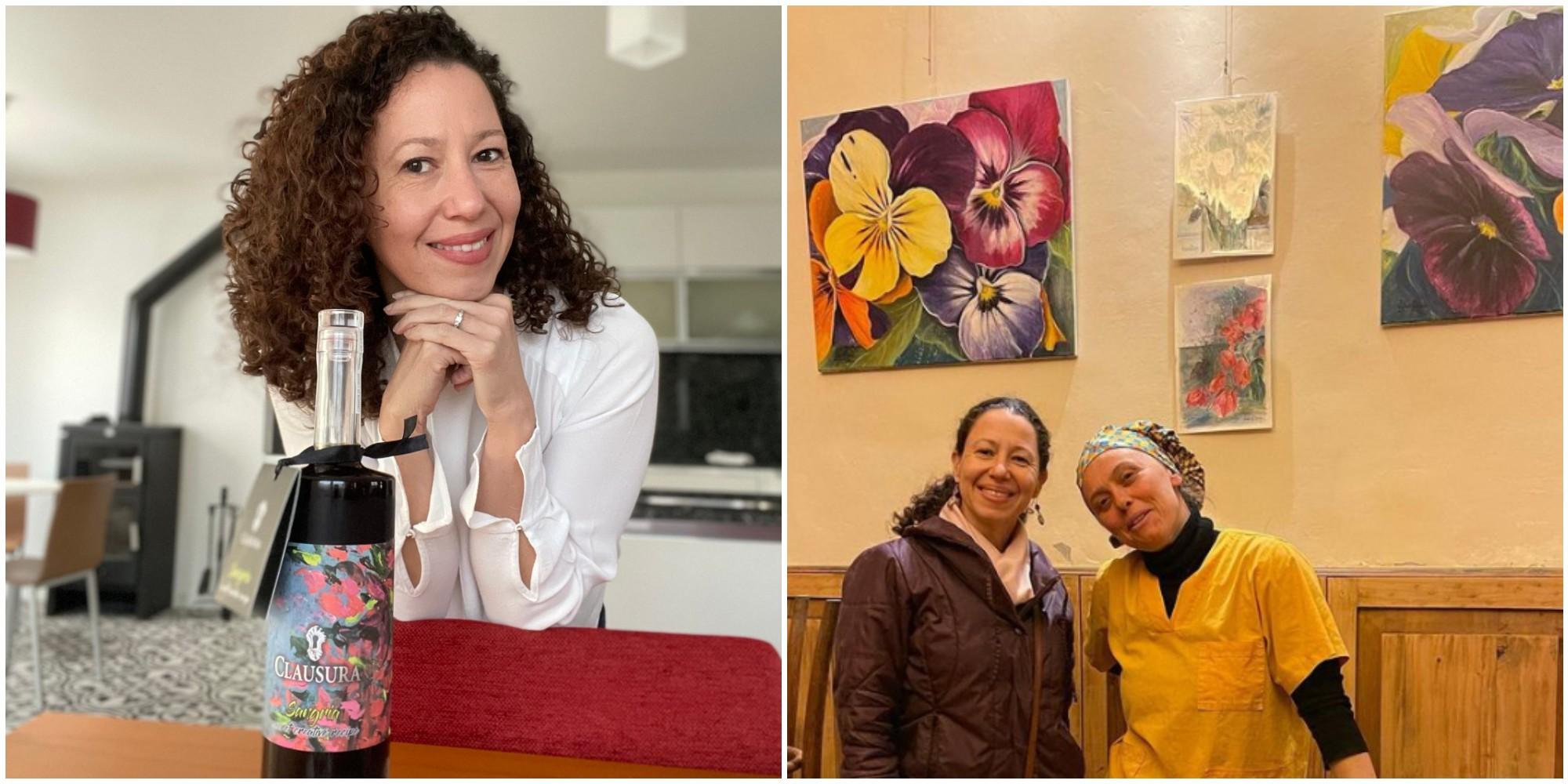 Pekatu Wine escogió la pintura de Victoria Delgado para su nueva etiqueta