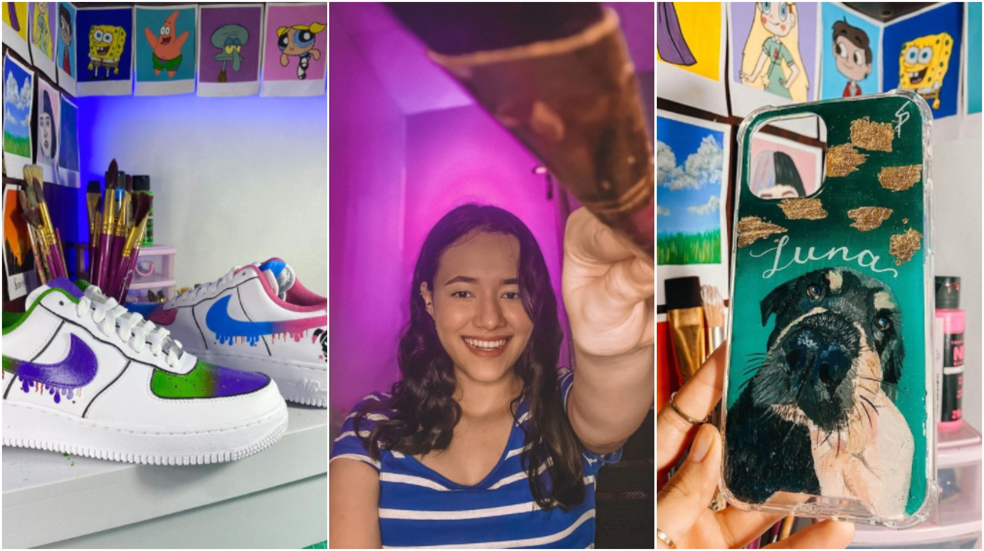 Hondureña Sindy Privado, destaca por crear productos personalizados