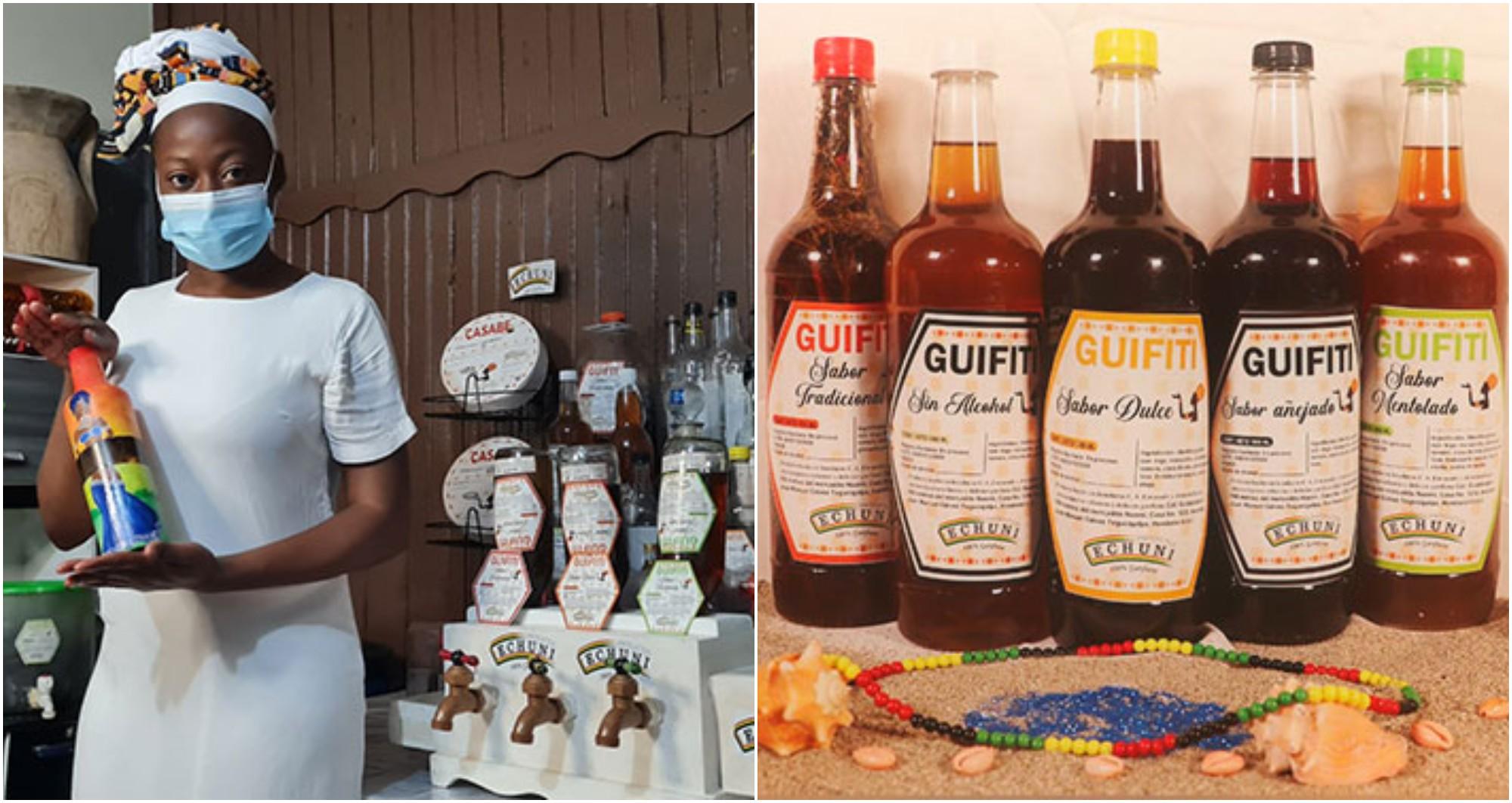 Layda García, emprendedora garífuna destaca con sus productos
