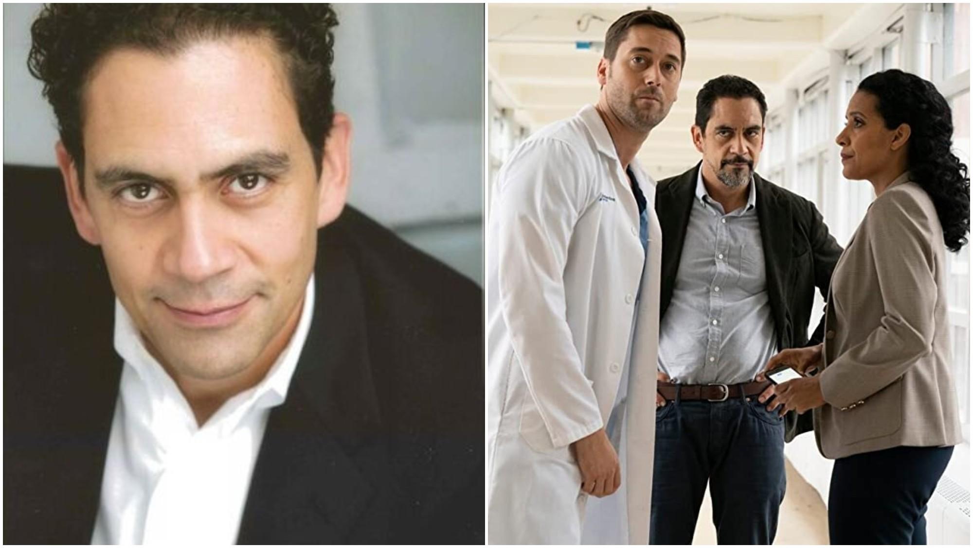 Hondureño José Zúñiga actúa en la serie New Amsterdam