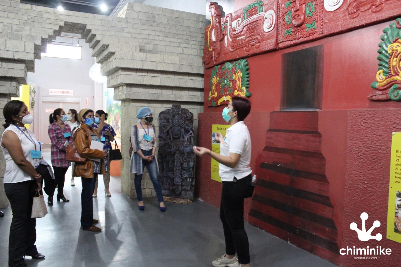 Museo moderno Chiminike, Centro interactivo de la enseñanza