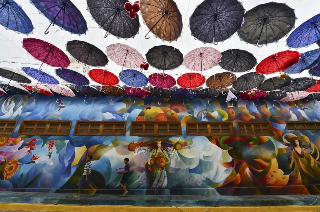 Crearan nuevos murales en el Paseo de La Felicidad en Cantarranas