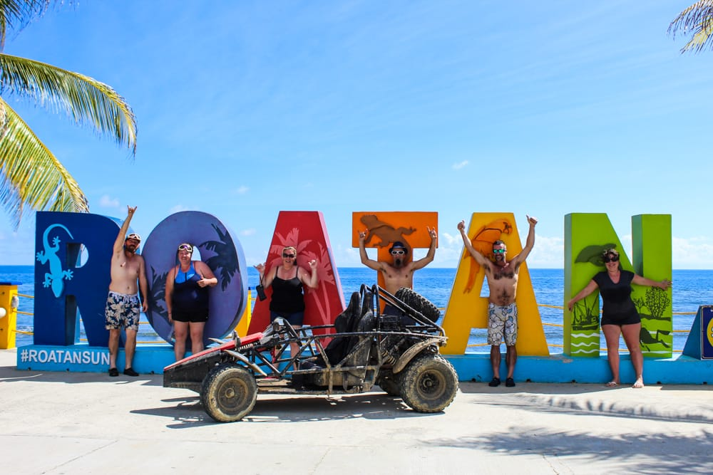 Buggy Tour en la Isla Roatán, aventura sobre ruedas
