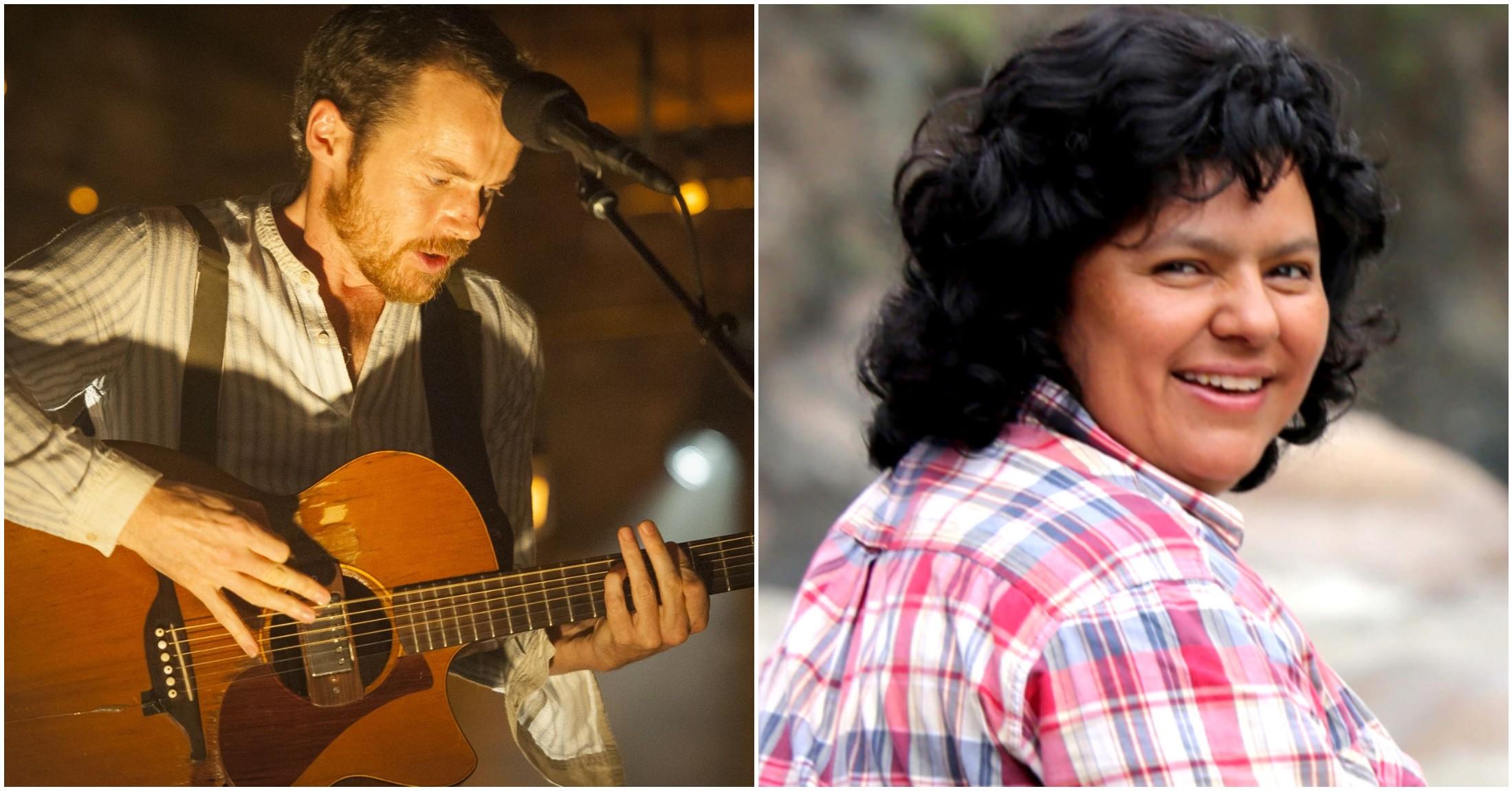 Músico irlandés Damien Rice dedica canción a Berta Cáceres