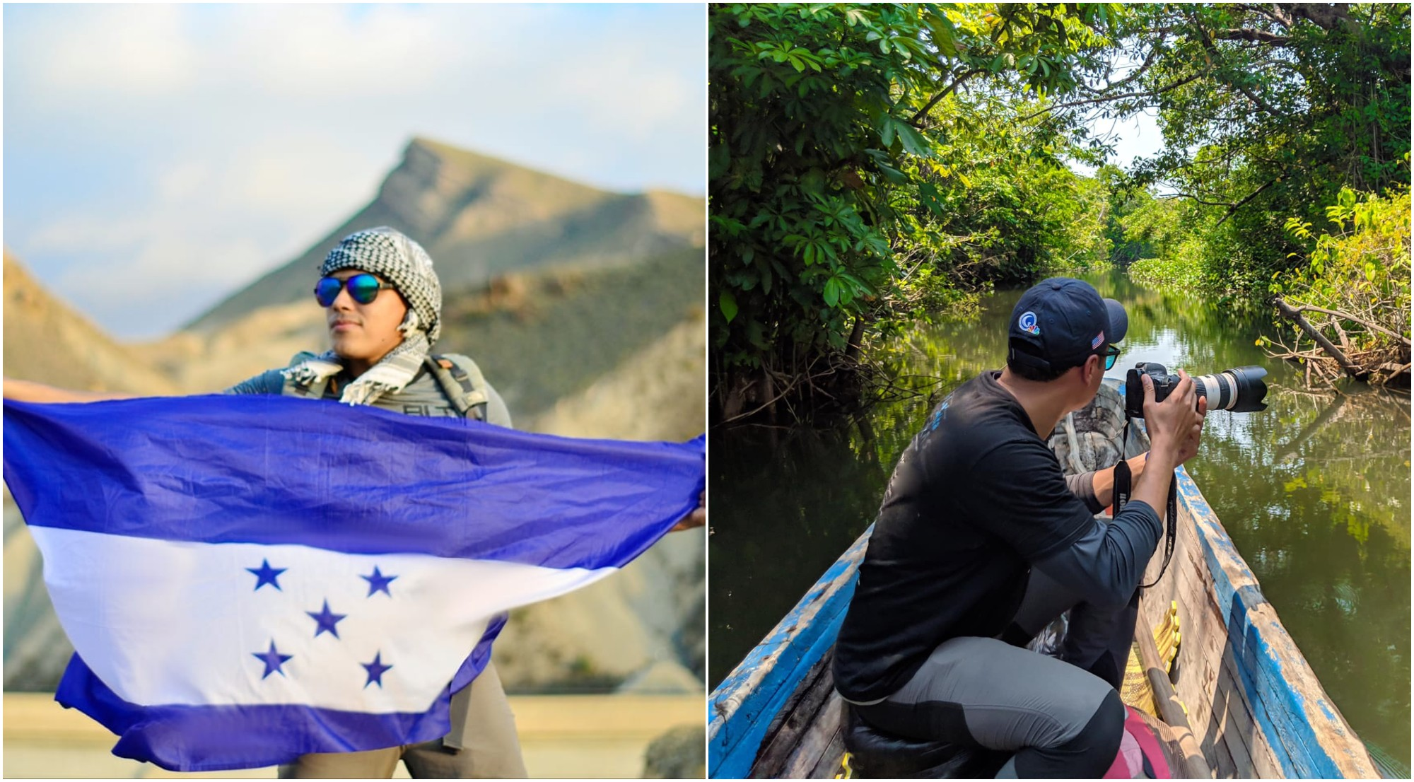 Hondureño recorre el mundo y lo comparte en su blog y redes sociales
