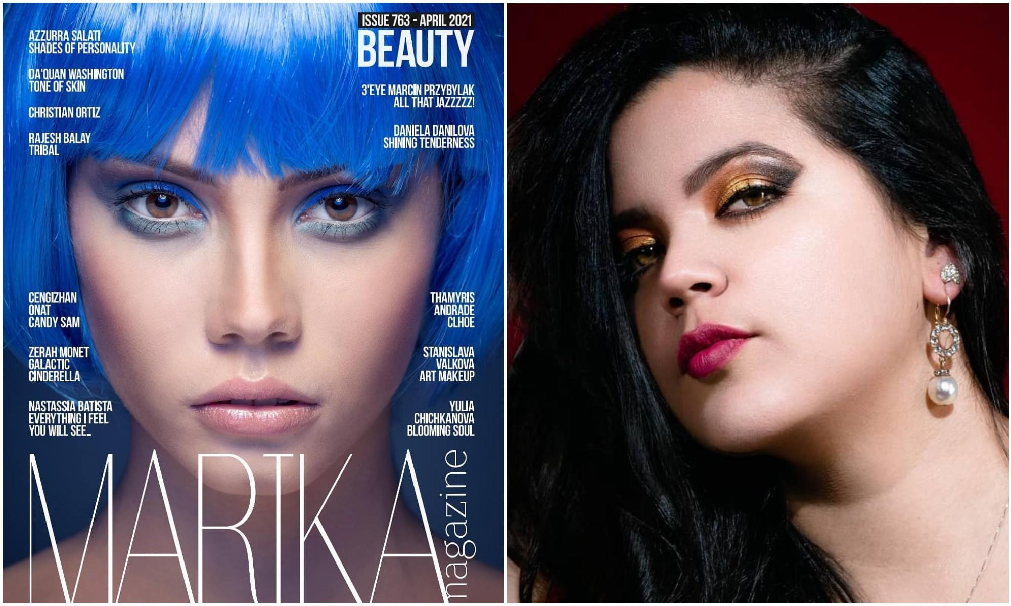 Hondureños destacan con su trabajo en la revista estadounidense Marika