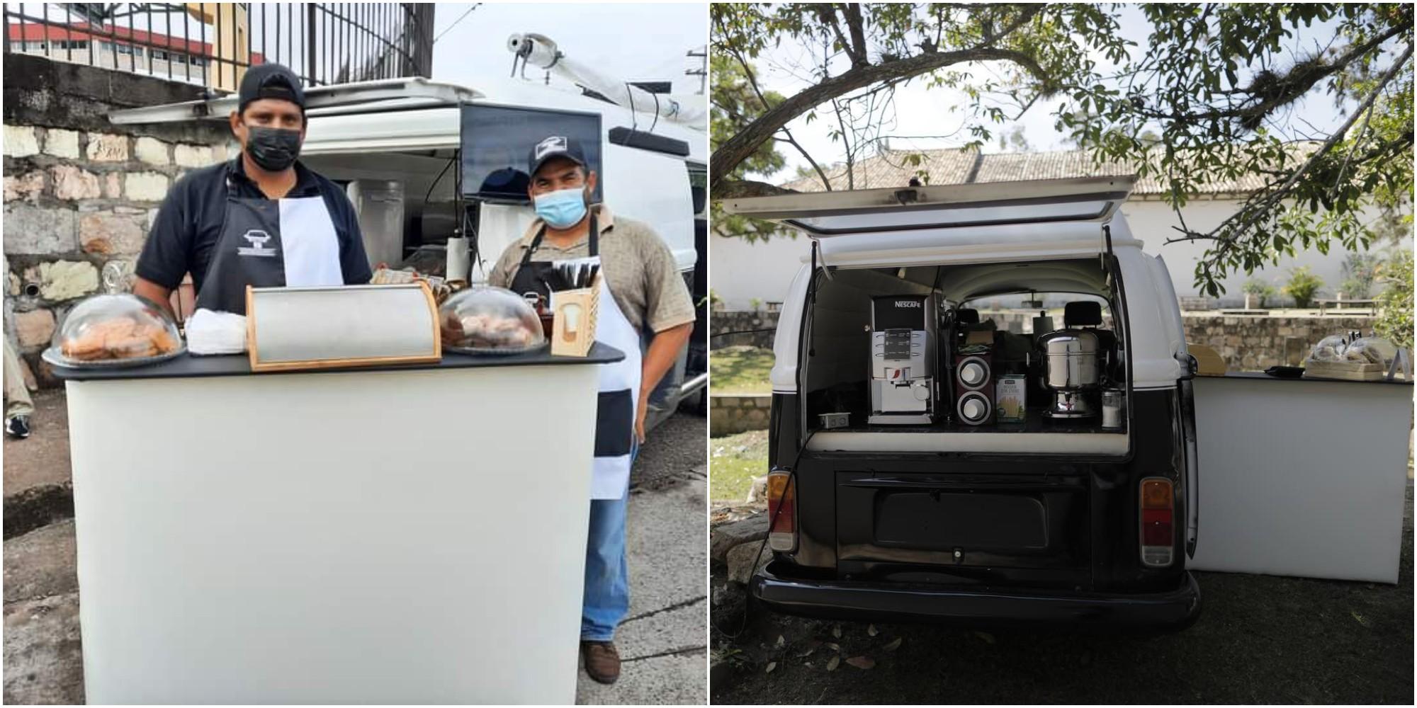 Coffegraphy, la cafetería móvil que está conquistando Honduras