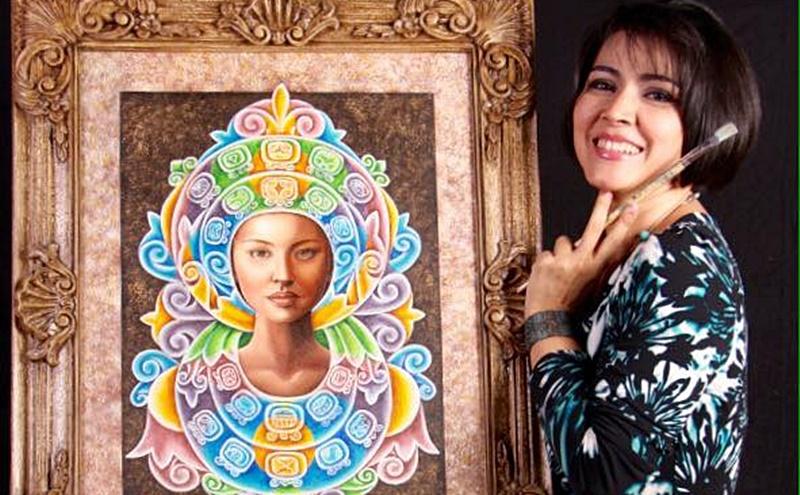 Artista hondureña Keyla Morel, expondrá en Los Ángeles, París y México