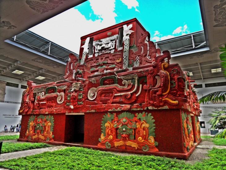 Templo Rosalila, descubrimiento arqueológico en Copán