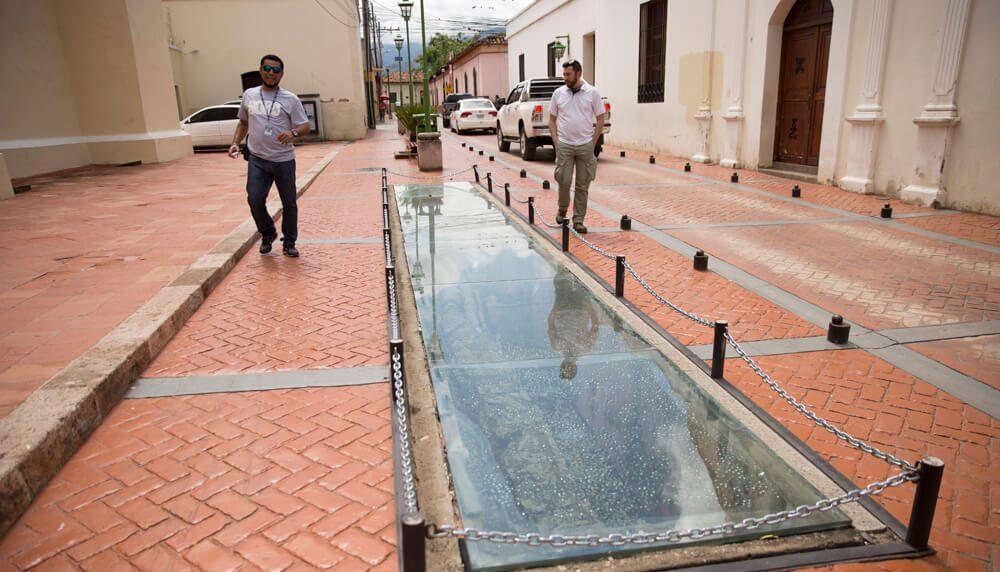 Sistema de alcantarillado en Comayagua, un interesante lugar de Honduras
