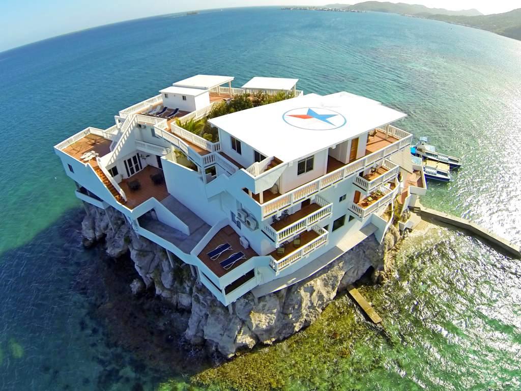 Villa On Dunbar Rock, el hotel escondido de Isla Guanaja