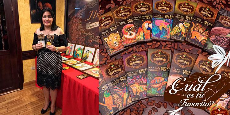 Ibagari Chocolate, marca hondureña gana premio internacional