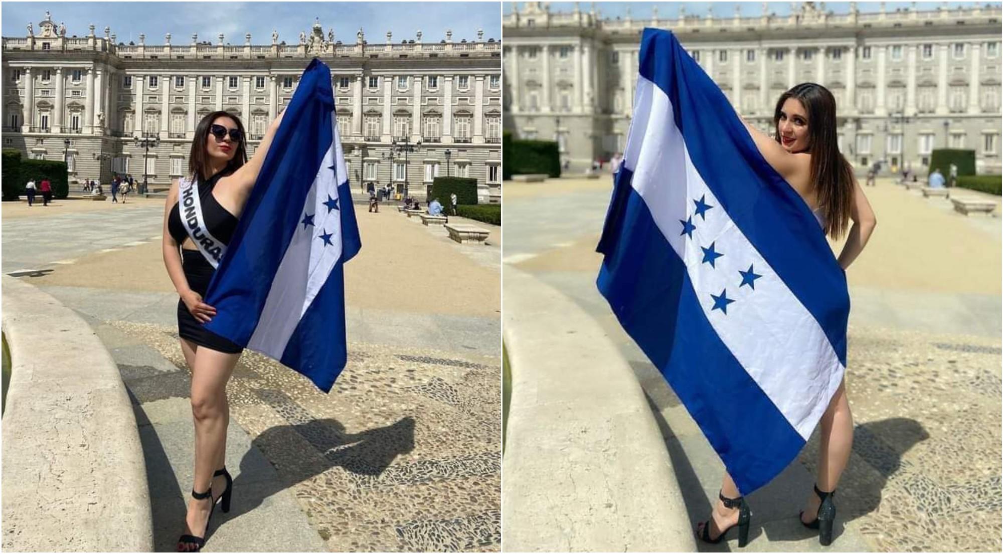 Hondureña participa en Miss y Mister Belleza Latina en España