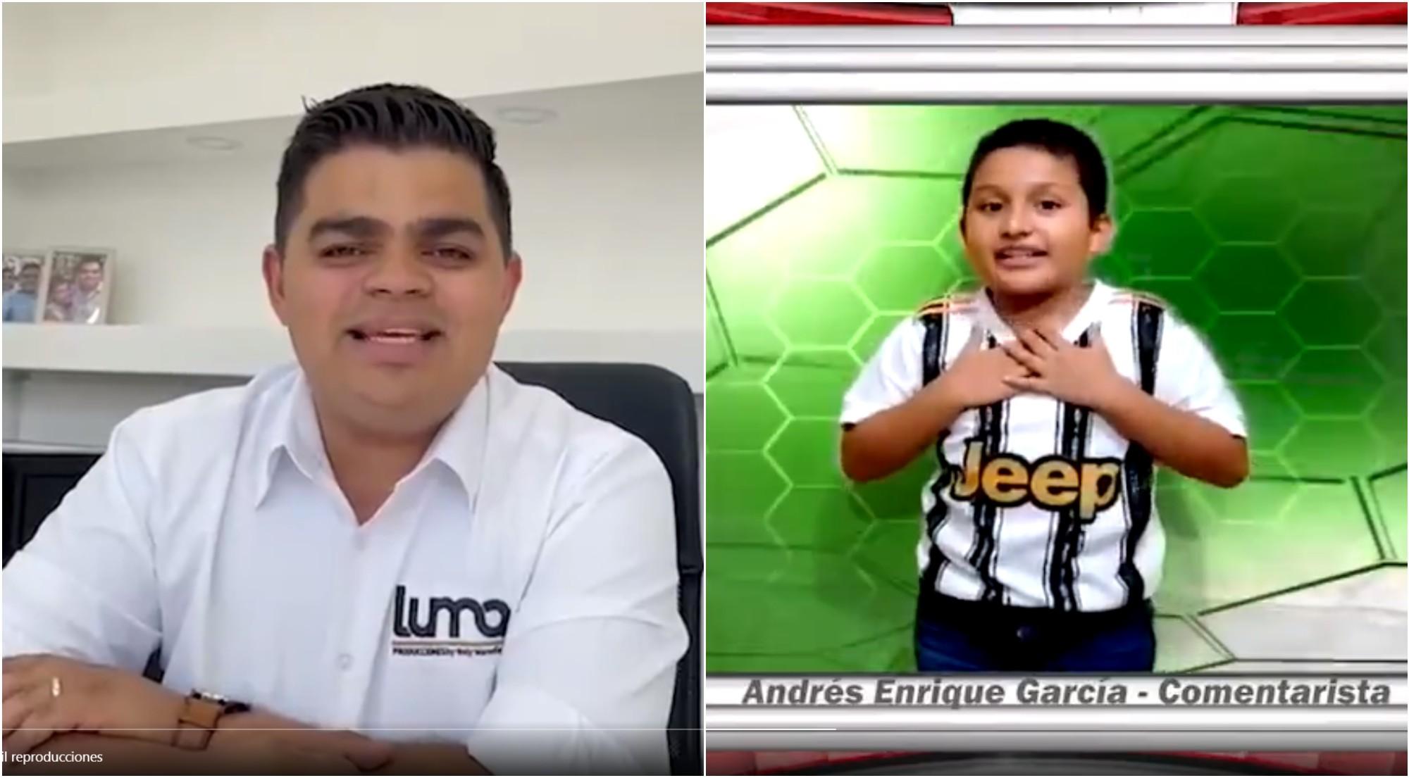 El conmovedor gesto de Rely Maradiaga a un niño hondureño