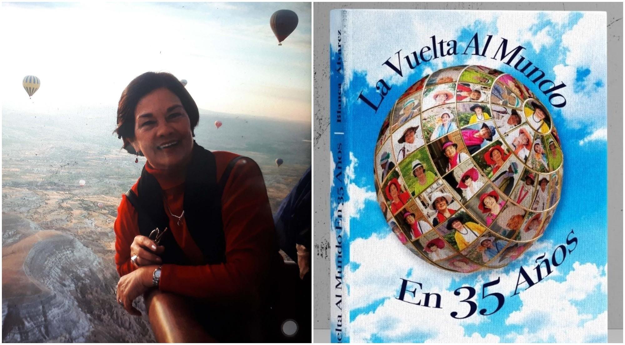 Hondureña publica un libro de su experiencia recorriendo el mundo