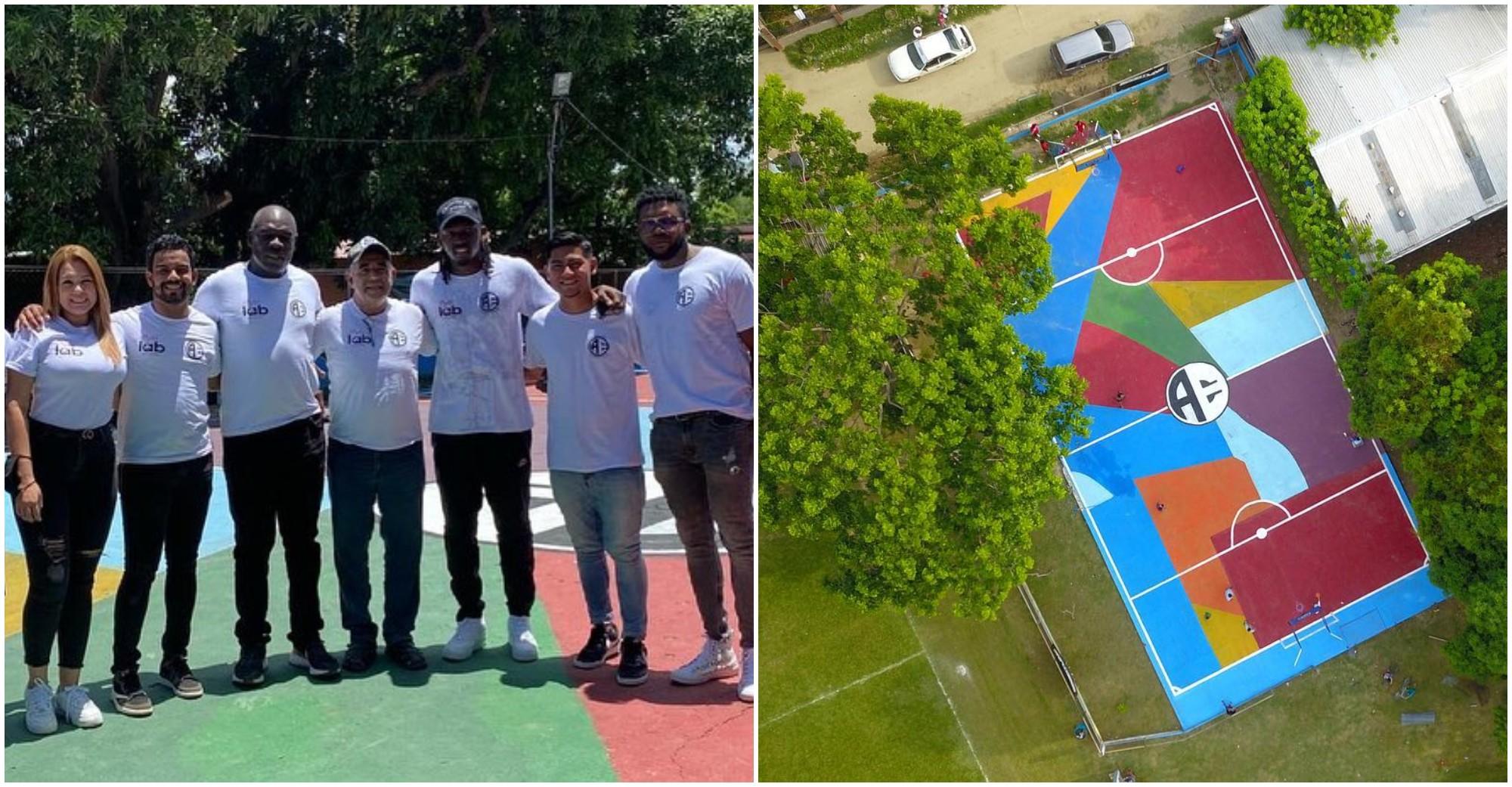 Fundación inaugura un complejo deportivo en el Chamelecón