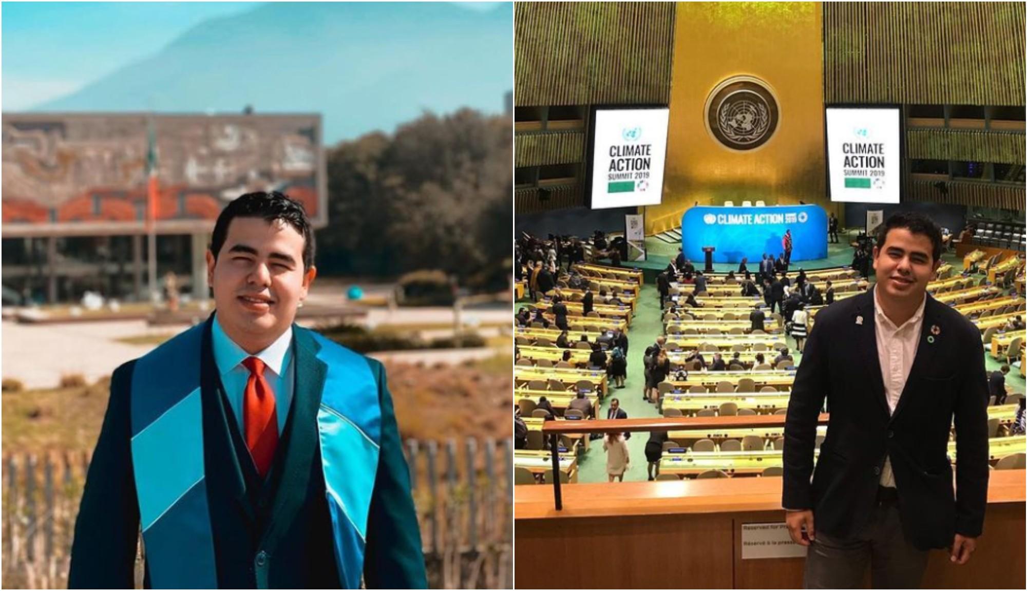 Hondureño destaca en programa de liderazgo de la Comisión Europea