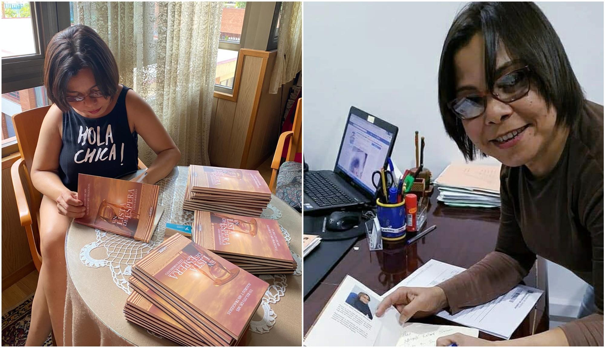 Hondureña Lees Sarmiento triunfa con su libro en España