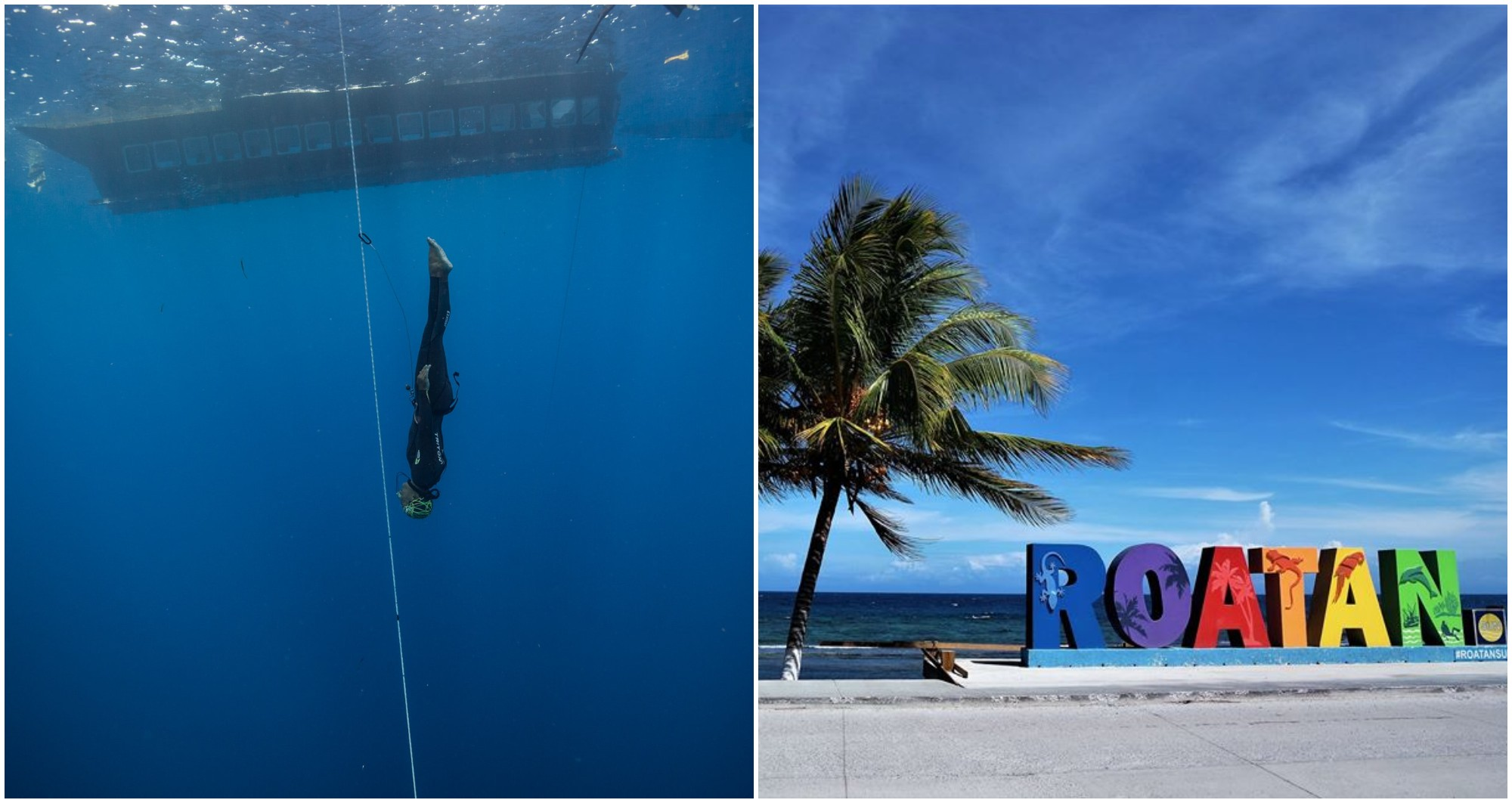 Roatán será sede de la competencia Caribbean Cup Freediving