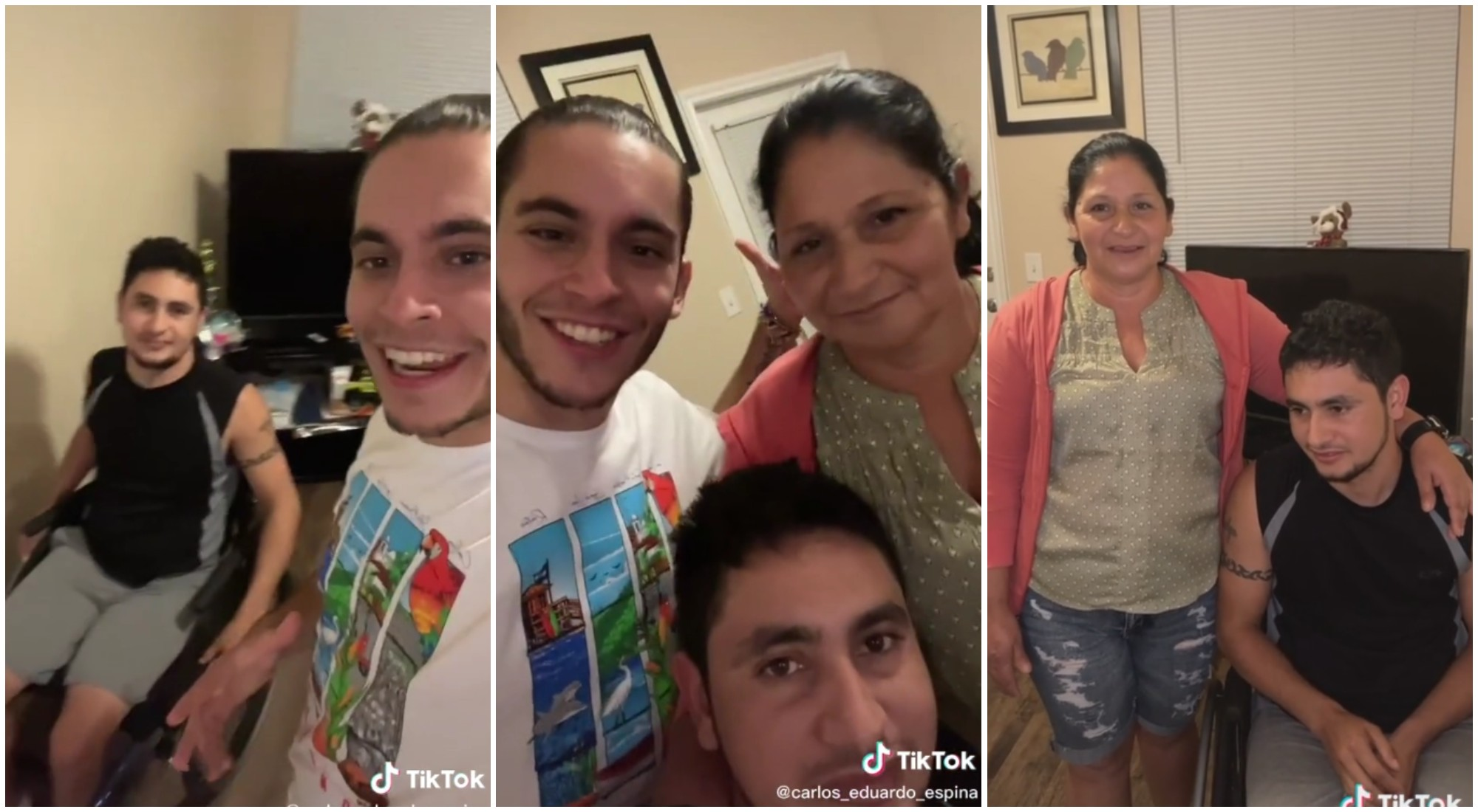 Influencer uruguayo ayuda a familia hondureña a reencontrarse