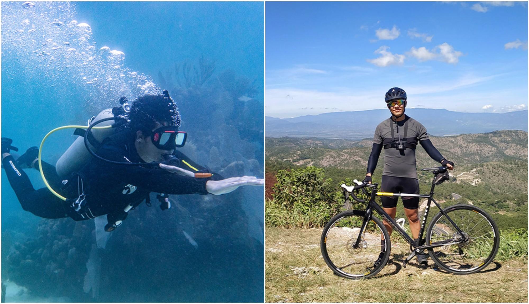 Hondureño busca rescatar los arrecifes de coral recorriendo 600 km