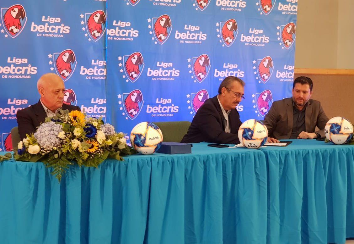 Betcris de Honduras, nuevo patrocinador oficial de la Liga Nacional