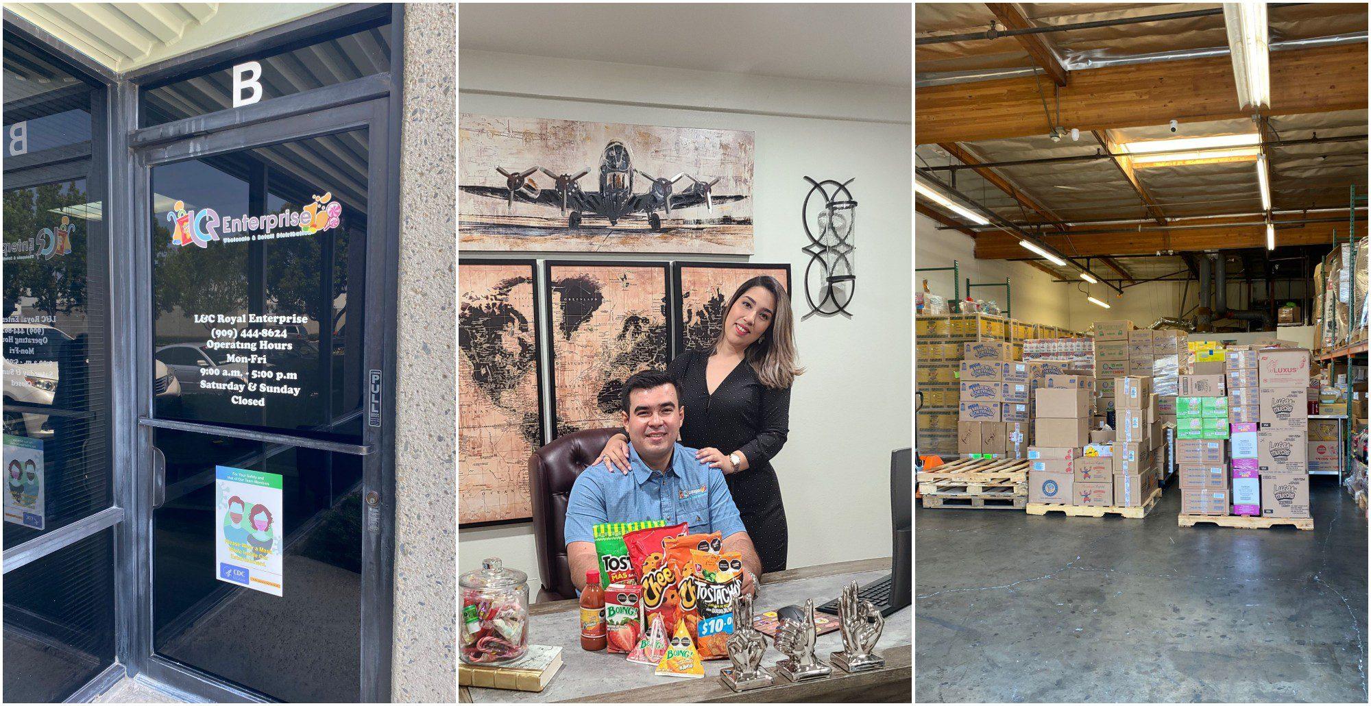 Hondureños triunfan con distribuidora de productos en California