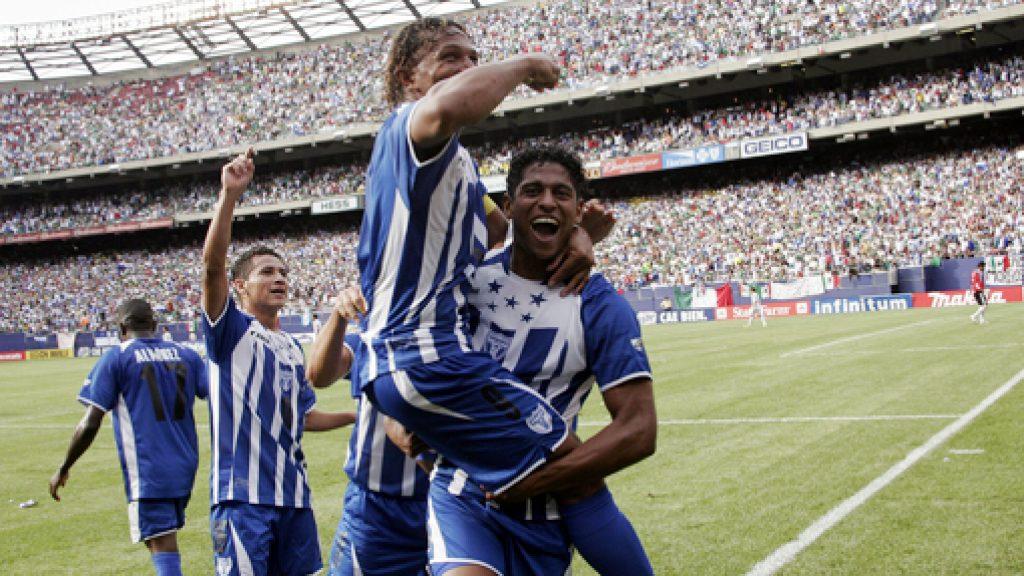 Concacaf recuerda victoria de Honduras contra México en Copa Oro