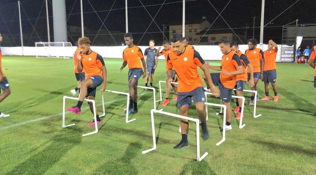 La Sub-23 de Honduras realiza primer entrenamiento para su debut ante Rumanía en Tokio
