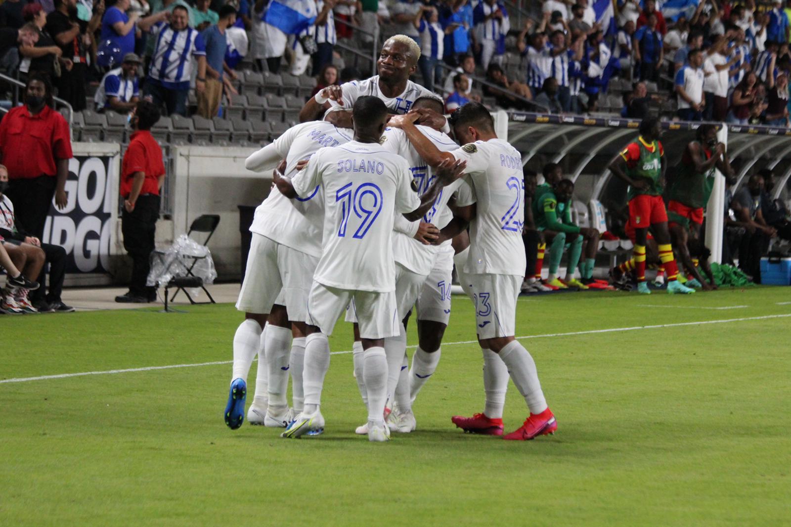 Alineación de Honduras para el partido vs México, fase de grupos de la Copa Oro 2021