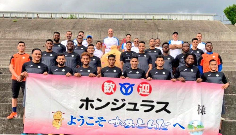 Sub-23 de Honduras recibe una afectuosa bienvenida en Kamitonda