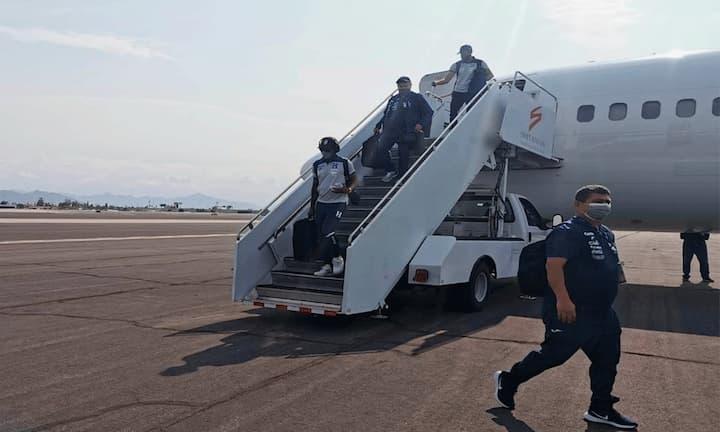 Selección de Honduras se encuentra en Phoenix para el partido contra México