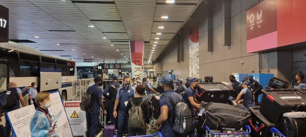 Selección Sub-23 de Honduras llegó a Tokio