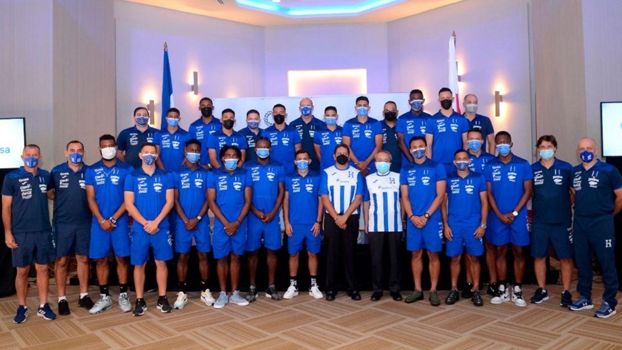 Selección Sub-23 de Honduras recibe reconocimiento rumbo a Tokio