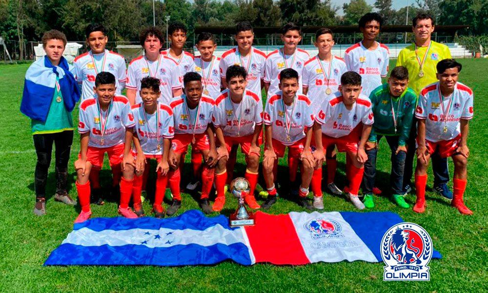 U-14 de Olimpia se coronan campeones de la Copa Patrick