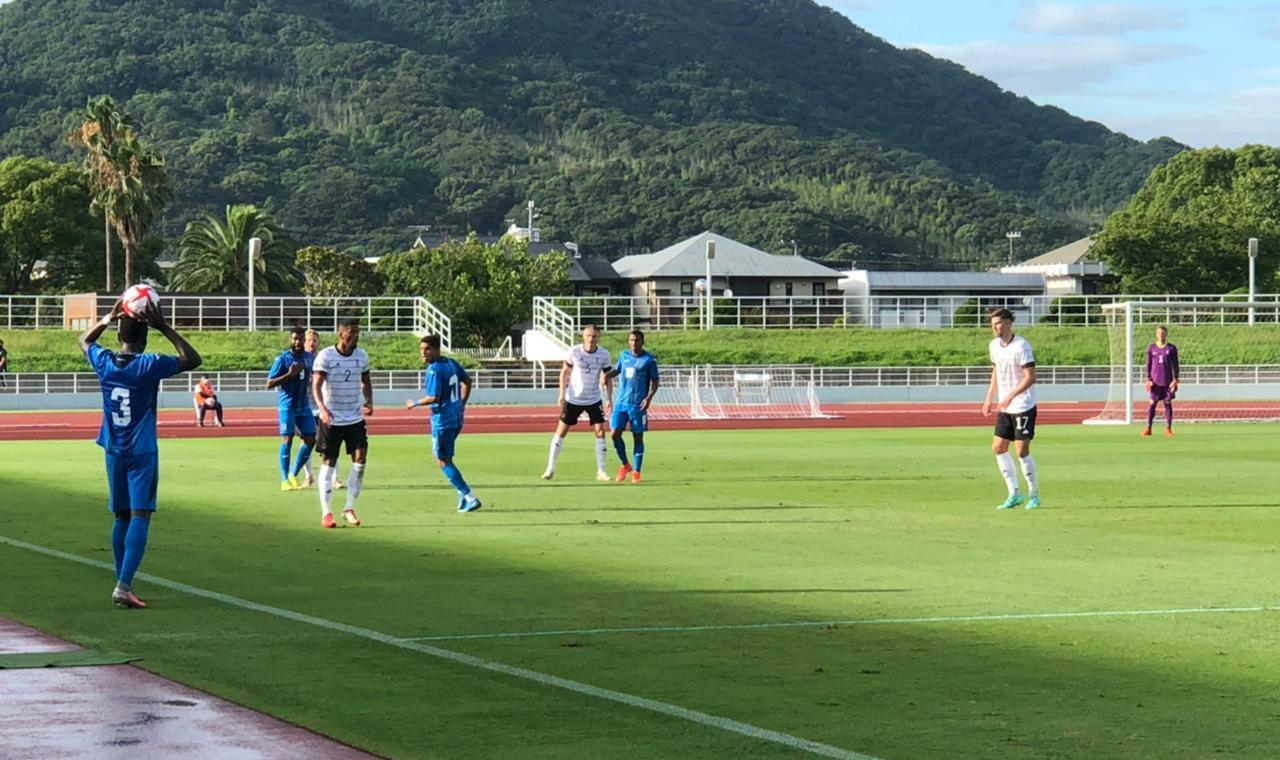 Sub-23 de Honduras empata contra Alemania en partido amistoso