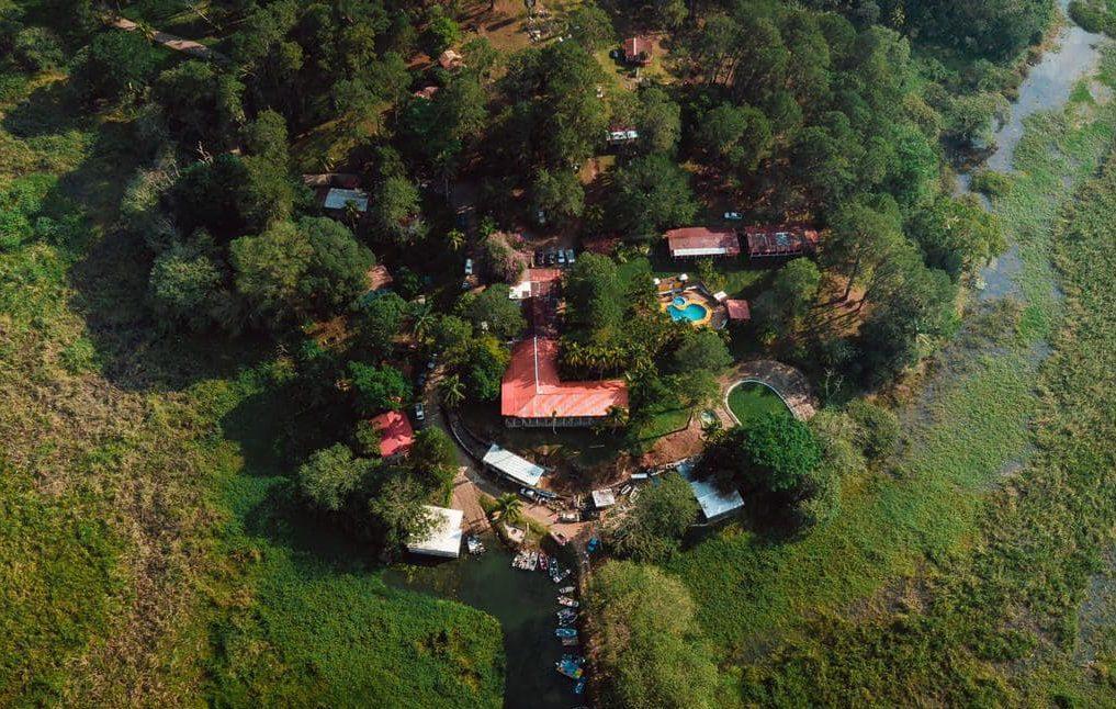 Cabañas Agua Azul, un lugar en medio del bosque del Lago Yojoa