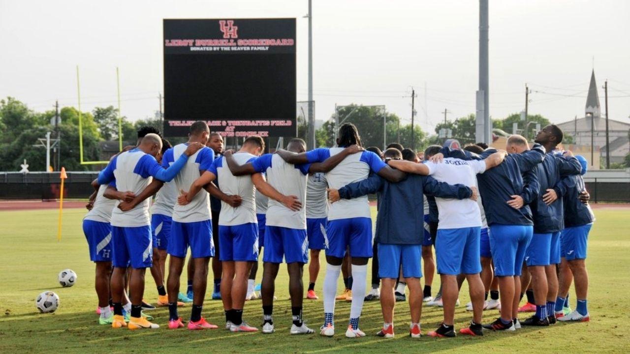 Alineación de Honduras para el partido vs Granada, fase de grupos de la Copa Oro 2021