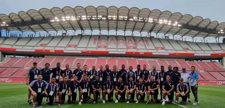 La Sub-23 de Honduras reconoce cancha donde debutará contra Rumanía en Tokio