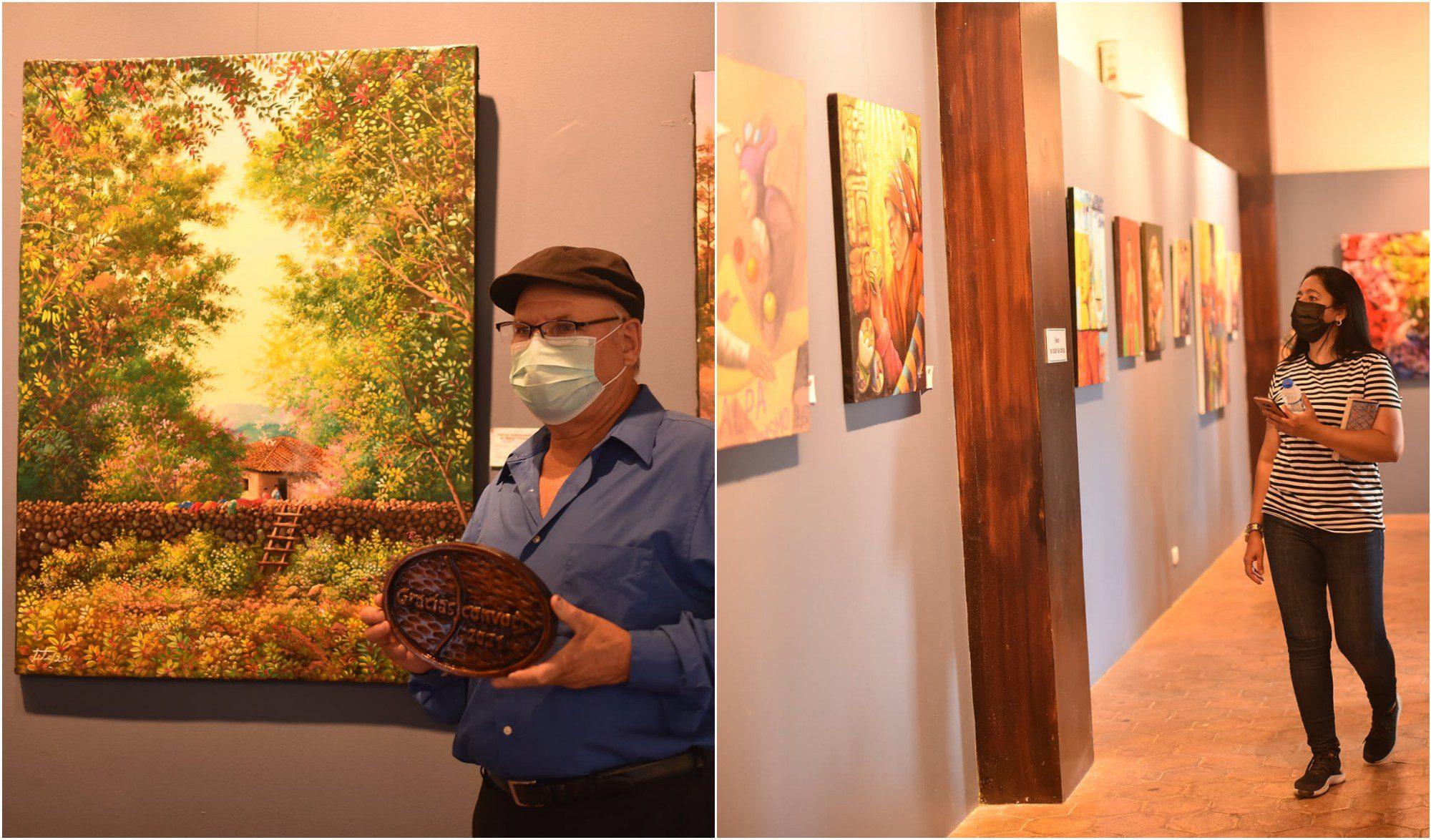 AHAP participó en Gracias Convoca con una exposición de arte