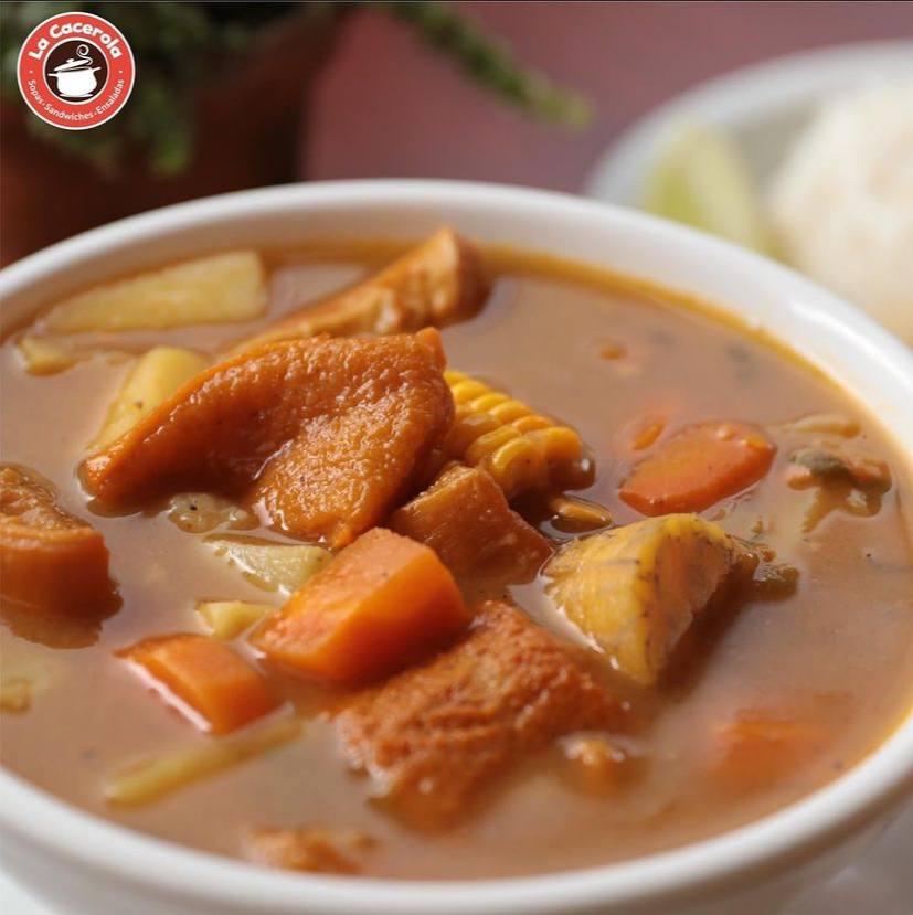 La Cacerola, comida tradicional hondureña