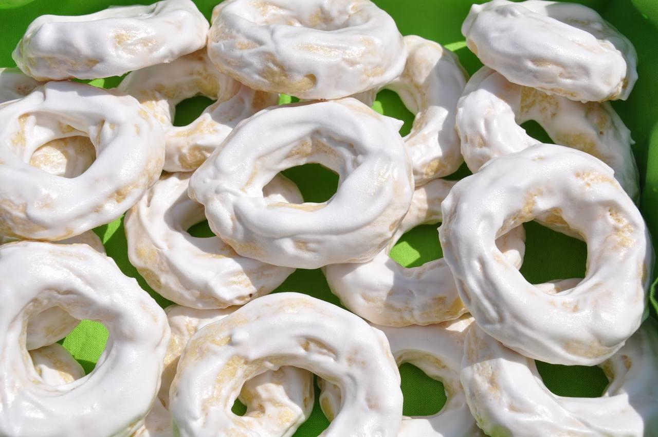 Receta de rosquetes hondureños