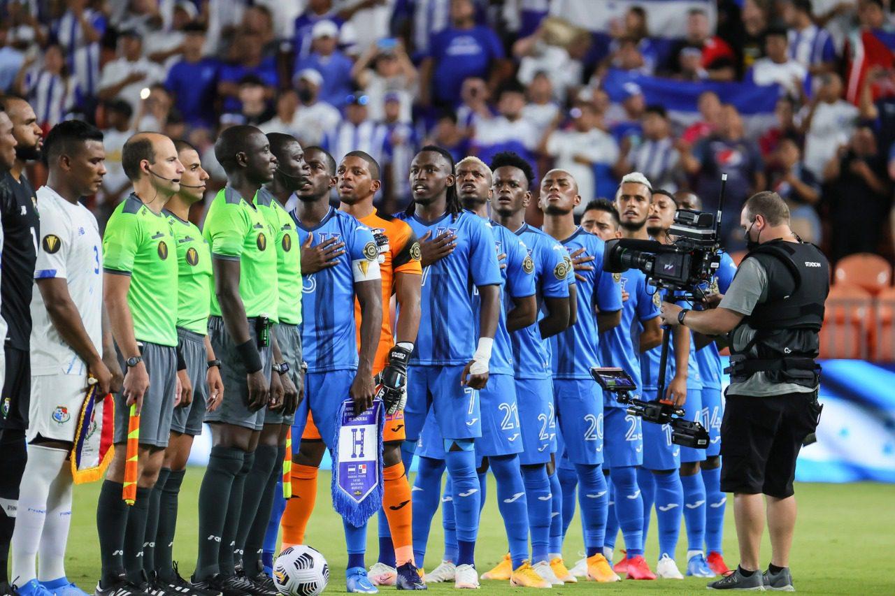 Alineación de Honduras para el partido vs Catar, fase de grupos de la Copa Oro 2021