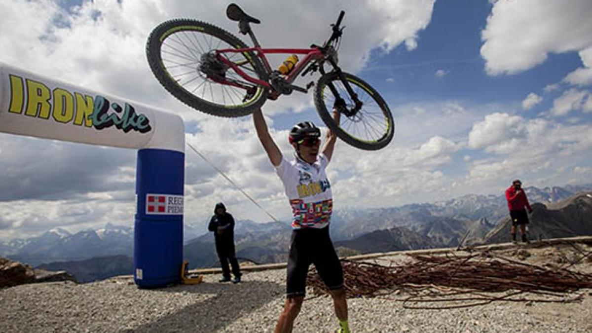 Hondureño Milton Ramos ganador del Iron Bike 2021 de Italia