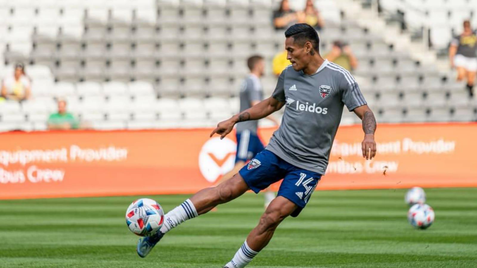 Nueva asistencia del hondureño Andy Najar con el DC United de la MLS