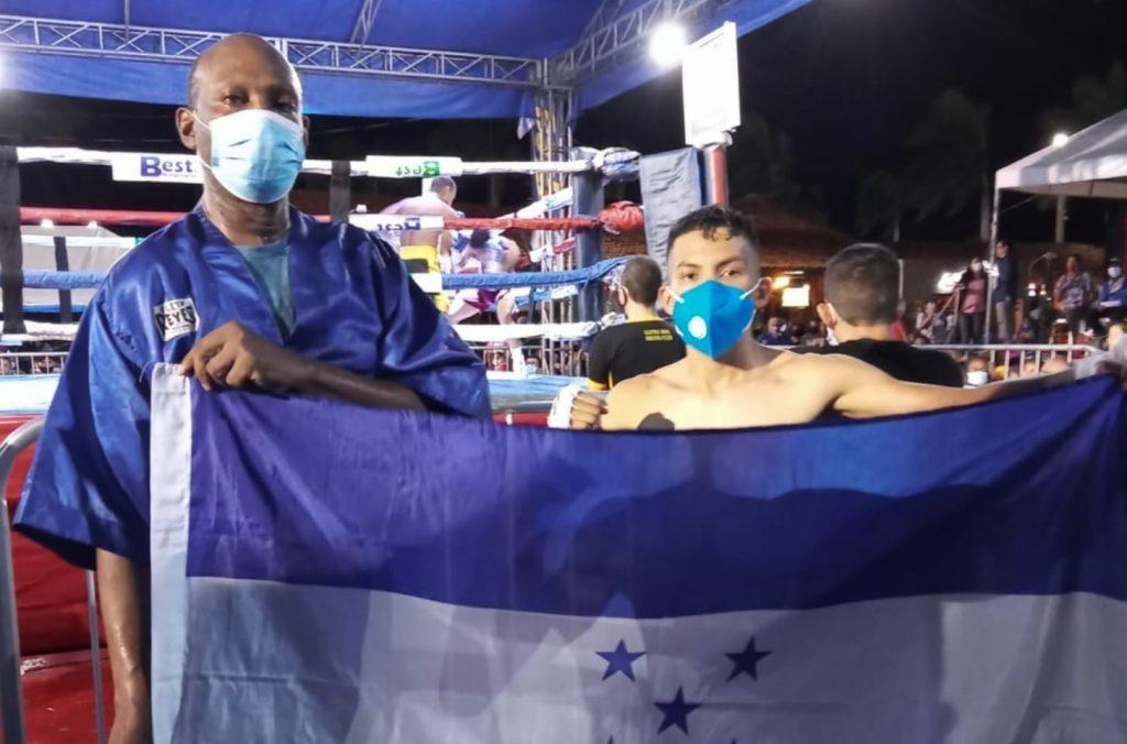 Hondureño Gerardo «El Chocolate» Sánchez gana por nocaut en Nicaragua