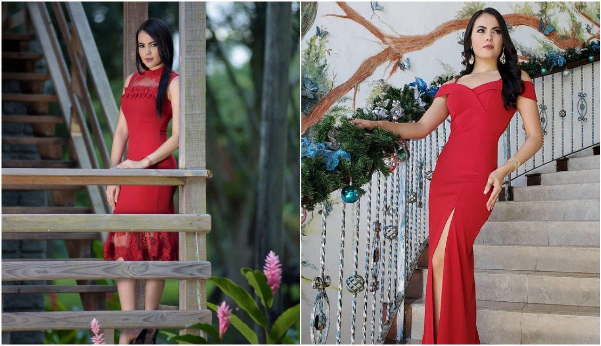 Dariana Reyes representa a Atlántida en Miss Honduras Universo