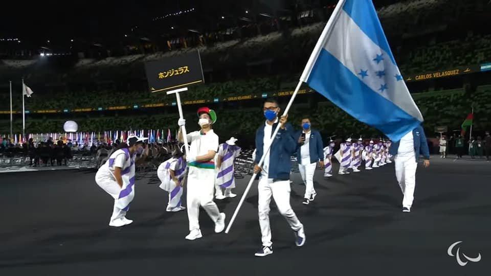 Carlos Velásquez abanderó a Honduras en los Paralímpicos de Tokio 2020