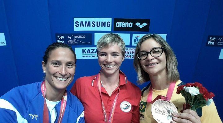Seis años de la medalla de plata de Ana  Fortín en Mundial de Natación