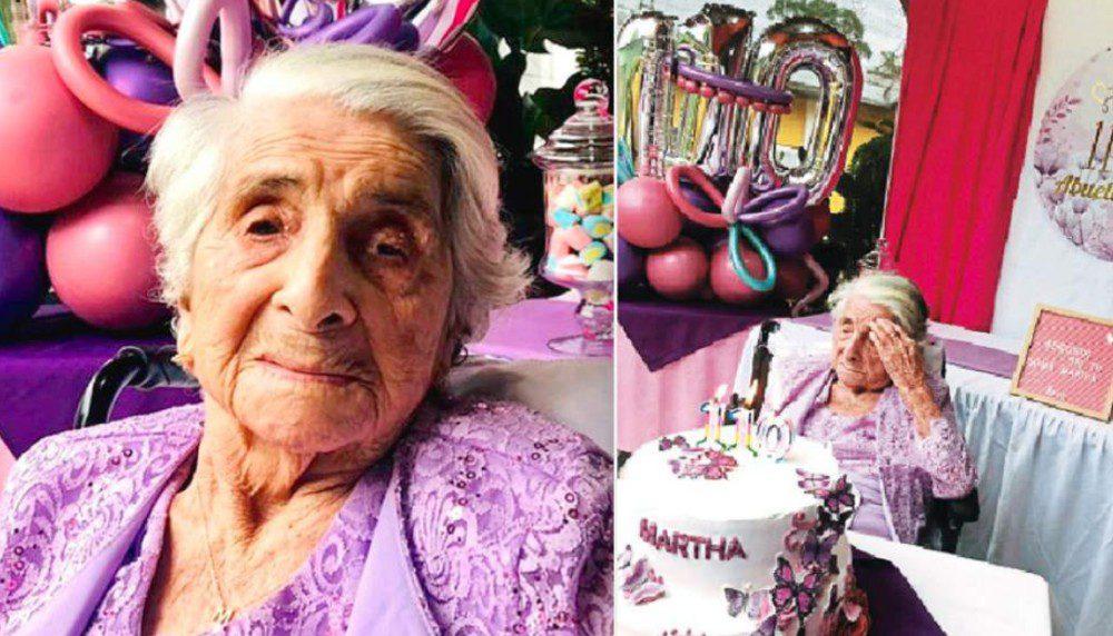 Hondureña cumple 110 años y superó el Covid-19